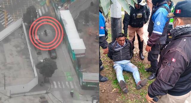 PNP capturó a sujeto que habría robado 11 mil soles