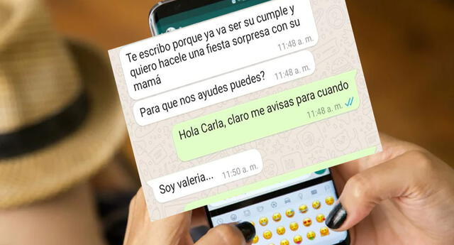 Llamativo chat de WhatsApp ha generado diversas reacciones en los usuarios de las redes sociales.