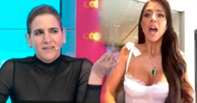 Sheyla Rojas fue sorprendida con tremenda pregunta por parte de Gigi Mitre.