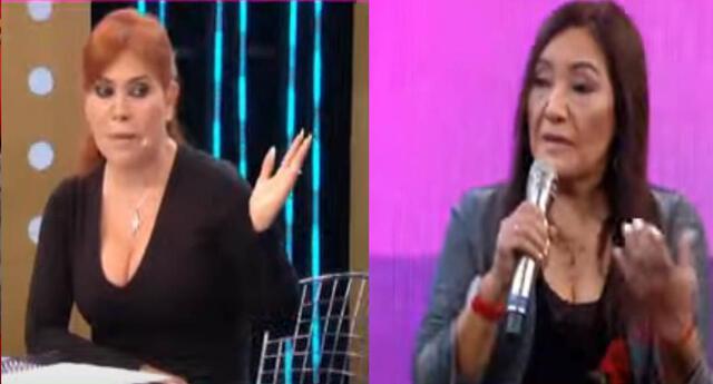 Magaly Medina a Flor de Huaraz tras exaltarse EN VIVO.