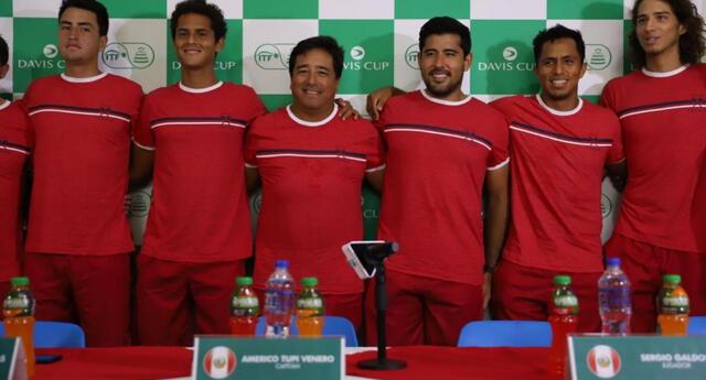 Perú espera derrotar a Bosnia por el Grupo Mundial I de la Copa Davis.