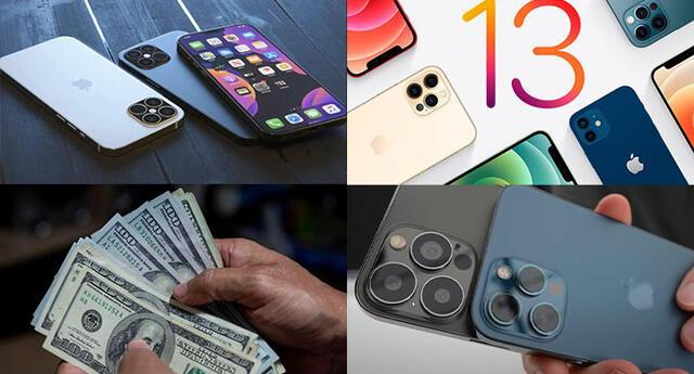Conoce el precio del iPhone 13 Pro, el iPhone 13 Pro Max y el iPhone 13 mini.