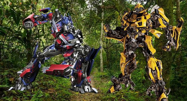 Transformers 7 y los detalles de rodaje en la selva peruana.