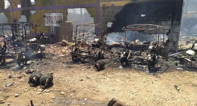 incendio de grandes proporciones consume planta de Llamagas