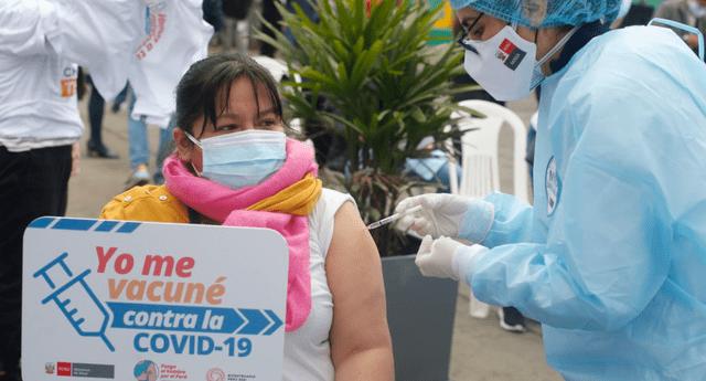 Más de 2 millones de dosis aplicadas en una semana desde que se inició con el proceso de inoculación contra el coronavirus
