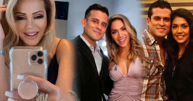 Gisela Valcárcel no cree que 'sea para tanto' la decisión que tomó Christian Domínguez de no ver a sus ex.