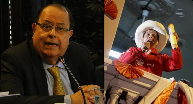 Presidente del BCR dijo que depende de Pedro Castillo su permanencia en el cargo.