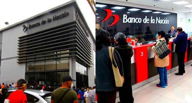 El Banco de la Nación apoya en las modalidades de pago del Bono Yanapay.
