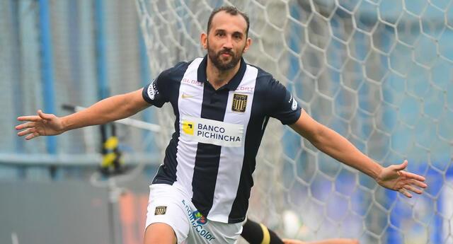 Hernán Barcos está vez estuvo más efectivo y marcó en la victoria de Alianza 2-0 ante Cusco FC.