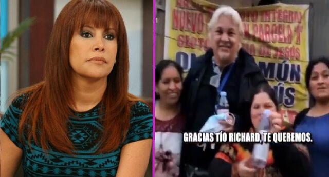 Magaly Medina arremetió contra Richard Swing por hacer 'politiquería'.