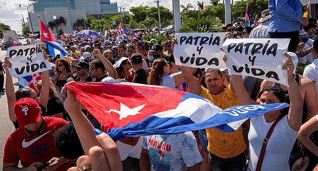 Diversas organizaciones civiles en Cuba han convocado un paro nacional para el próximo 11 de octubre de 2021. Foto: EFE
