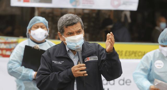 Ministro de Salud estuvo supervisando el último VacunaFest.