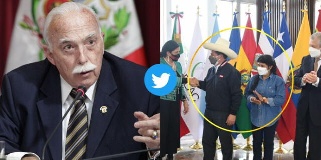 Carlos Tubino critica a la primera dama por presentarse en jeans en importante evento y redes sociales explotan.