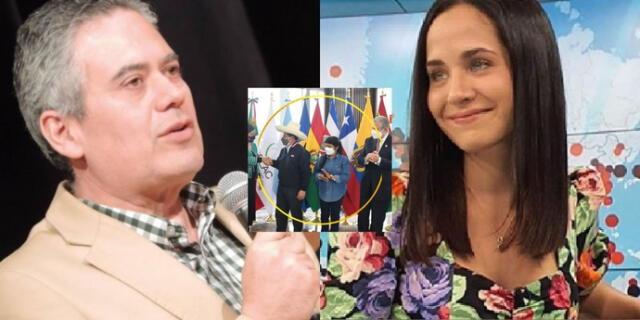 """Los defendió. Bazán a Revoredo por comentarios racistas contra primera dama y Pedro Castillo: """"Rechazo total"""""""