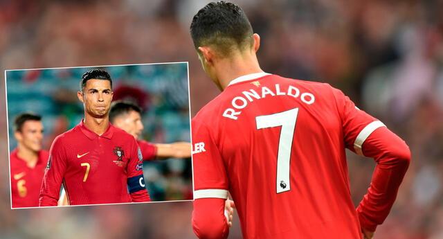 Cristiano Ronaldo sigue usando la camiseta número 7 en Manchester United.
