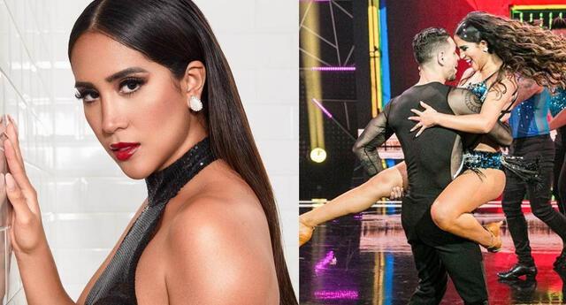 Melissa Paredes dispuesta a ganas en Reinas del Show