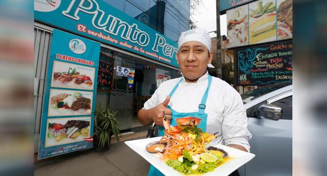 Christian decidió especializarse en la cocina con el objetivo de tener su propio negocio y sacar a delante a su familia .