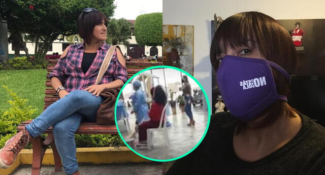 Sonaly Tuesta se indignó con los problemas que tuvo para viajar a Chincha por la gran afluencia de limeños que buscaban la vacuna Pfizer.