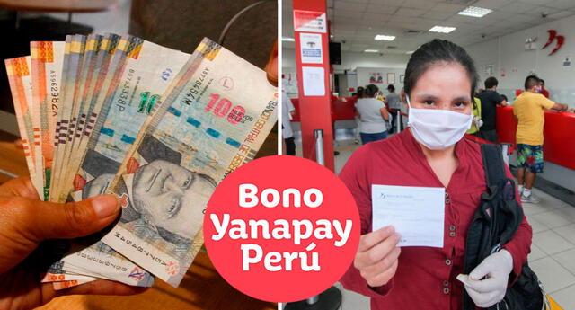 CONSULTA fecha de pago del grupo 2 del Bono Yanapay