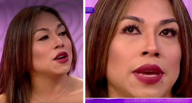 Dayanita se confesó frente a las cámaras de Andrea.