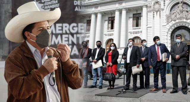 Mandatario llamaría la atención a legisladores de Perú Libre, según empresarios.