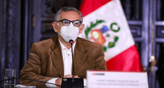 Pedro Francke aseguró que no se promoverá la Asamblea Constituyente