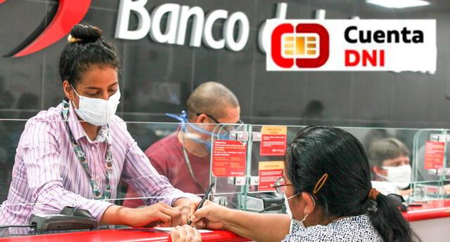 LINK oficial de cuenta DNI para cobrar el Bono Yanapay