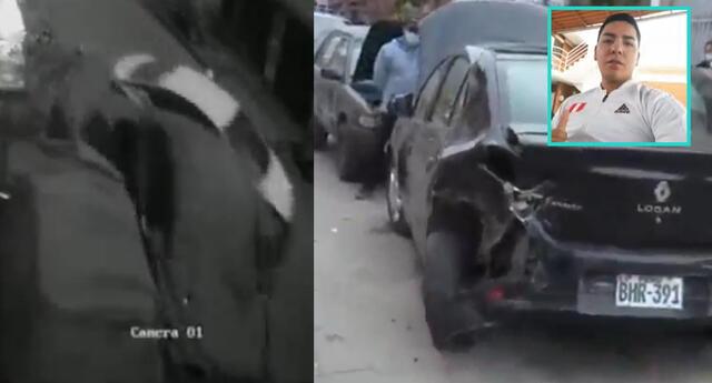 Policía causó accidente vehicular por manejar en estado de ebriedad.
