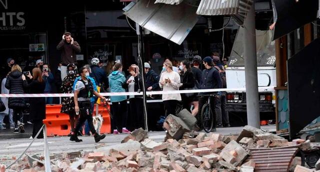 El terremoto fue registrado 38 km al S del monte Buller, a una profundidad de 10,0 kilómetros.