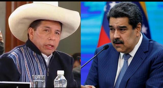 Nicolás Maduro propuso a Pedro Castillo un plan de retorno de refugiados venezolanos a su país