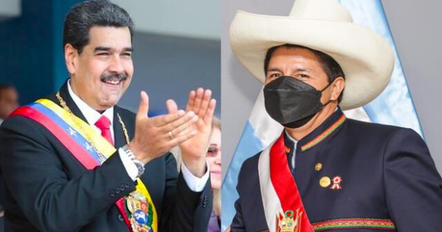 Maduro indicó que conversó con el presidente Castillo para el regreso masivo de venezolanos a su patria.