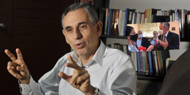 """Pedro Francke, molesto con periodista: """"Hace cinco preguntas me dijo que era la última"""""""