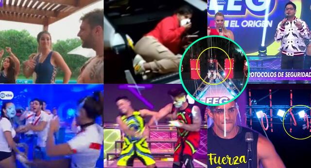 El accidente de Elías Montalvo no es el primer caso que ha llamado la atención de los televidentes de EEG, hay peleas EN VIVO, faltas a las normas, etc.