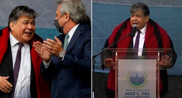 El intendente destacó que en José C. Paz hace un mes y medio que no hay nuevos ingresos de pacientes con COVID-19.
