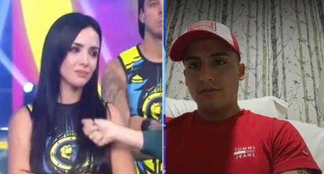 Rosángela Espinoza se quiebra tras ver a Elías Montalvo.