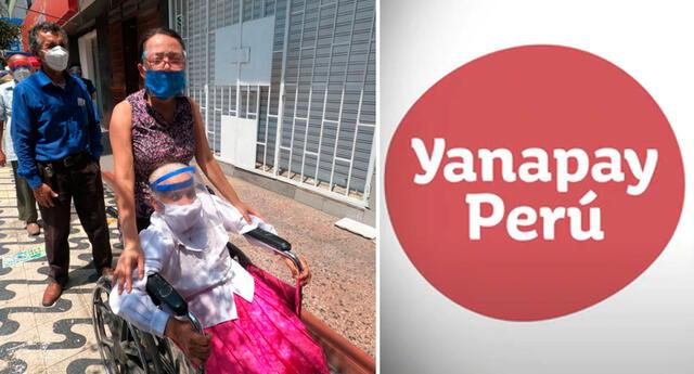 Beneficiario del bono 350 soles del Bono Yanapay Perú.