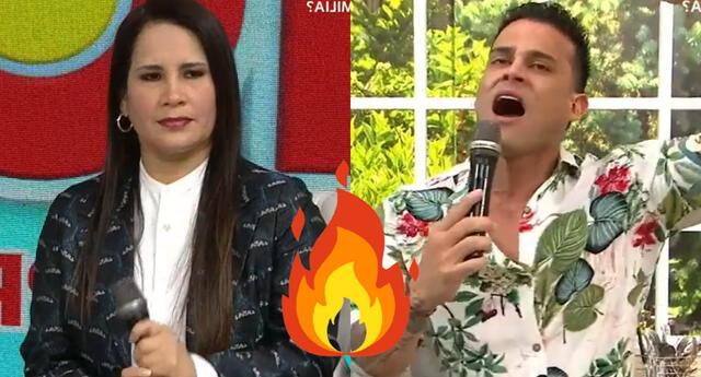 Christian Domínguez recordó cómo se fijó en Pamela Franco hace ocho años y la psicóloga Lizbeth Cueva hizo un fuerte comentario.