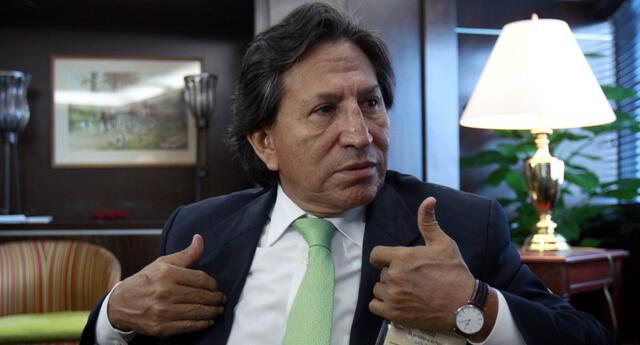 Evaluarán extradición de Alejandro Toledo.