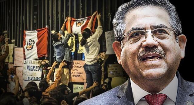 Manuel Merino solicita al Congreso pensión vitalicia como expresidente y las redes explotan. Foto: GLR