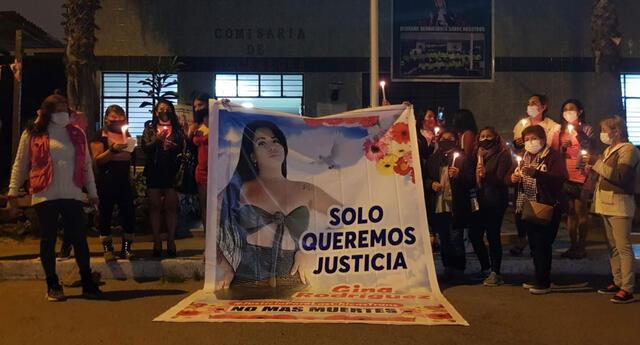 Familiares y amigos de Gina Rodríguez exigen justicia
