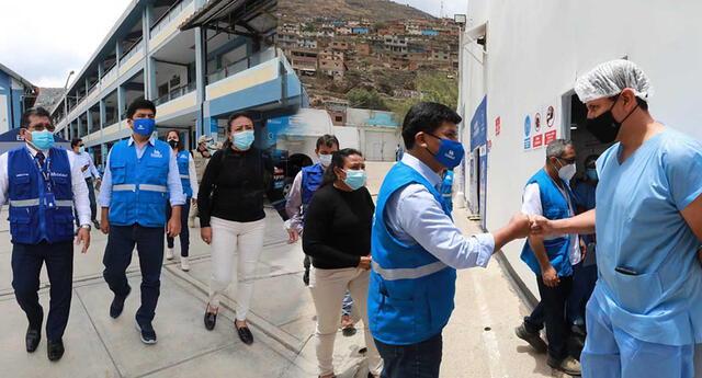 EsSalud garantizó atención de pacientes ante la llegada de una tercera ola en el país.
