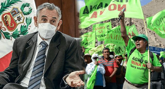 Pedro Francke indicó que por ahora no es viable el proyecto minero Tía María