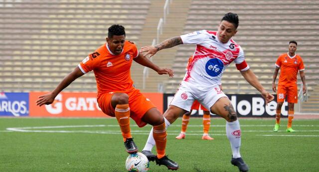 Juan Aurich y Unión Huaral desarrollaron un intenso encuentro que terminó con seis goles.