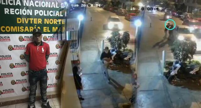Falso repartidor de pizza asaltó a joven que esperaba su taxi por aplicativo.