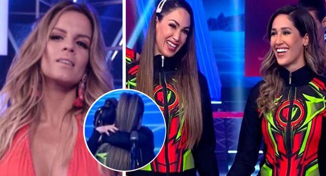 Alejandra Baigorria incentivó a Tepha para que abrace a Melissa.