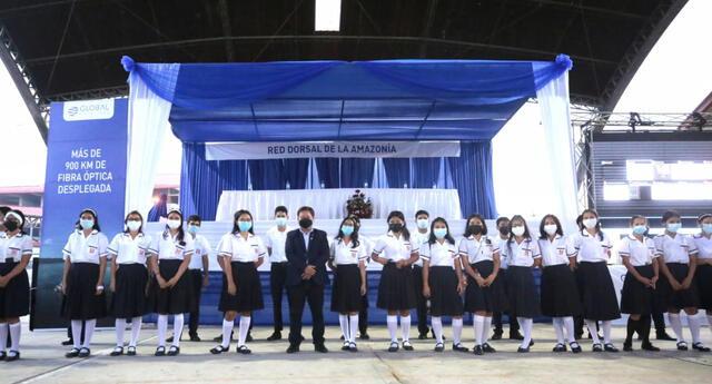 En la ceremonia estuvo el presidente del PCM, Guido Bellido