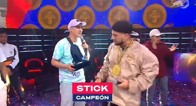 Stick venció a Litzen en la final y es el tricampeón de la Red Bull Batalla Perú.