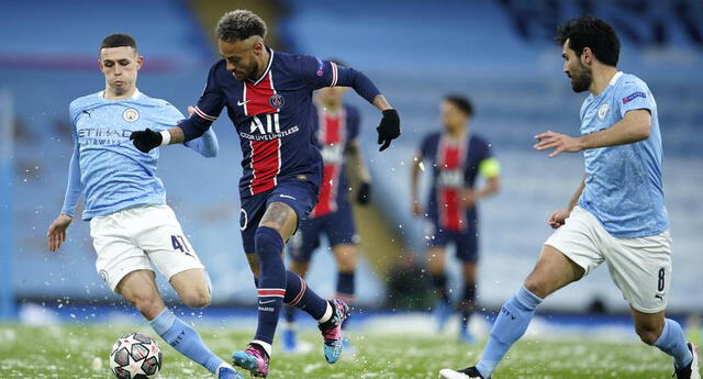 Ante la posible ausencia de Messi , el brasileño Neymar toma la batuta en el PSG ante el City.