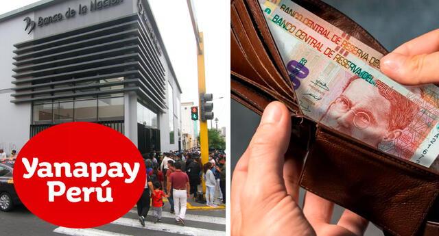 Fechas de pagos del Bono Yanapay