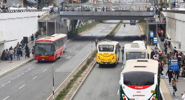 Autorización para que taxis y autos particulares circulen en la Vía Expresa Grau se extendió hasta el 31 de diciembre.